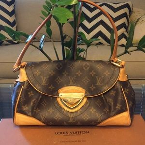 Authentic Louis Vuitton Beverly